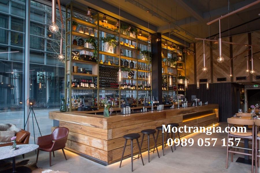 Quầy Bar Cafe Giá Rẻ_Moctrangia.com