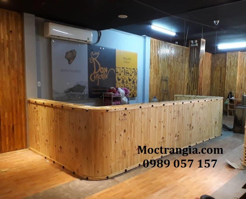 Quầy Bar Cafe Giá Rẻ 033GT