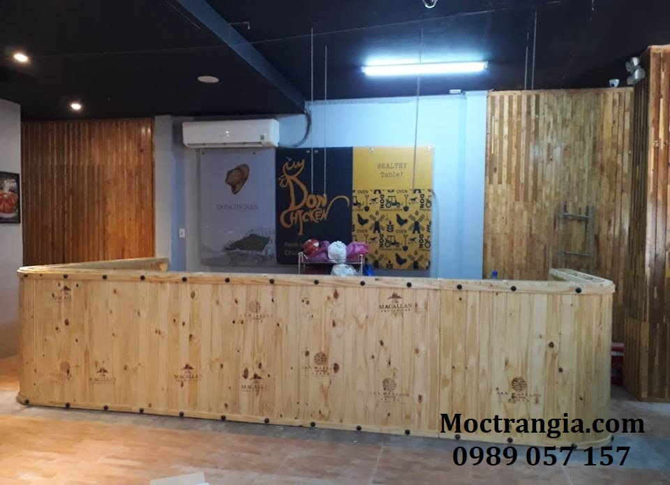 Quầy Bar Cafe Giá Rẻ 035GT