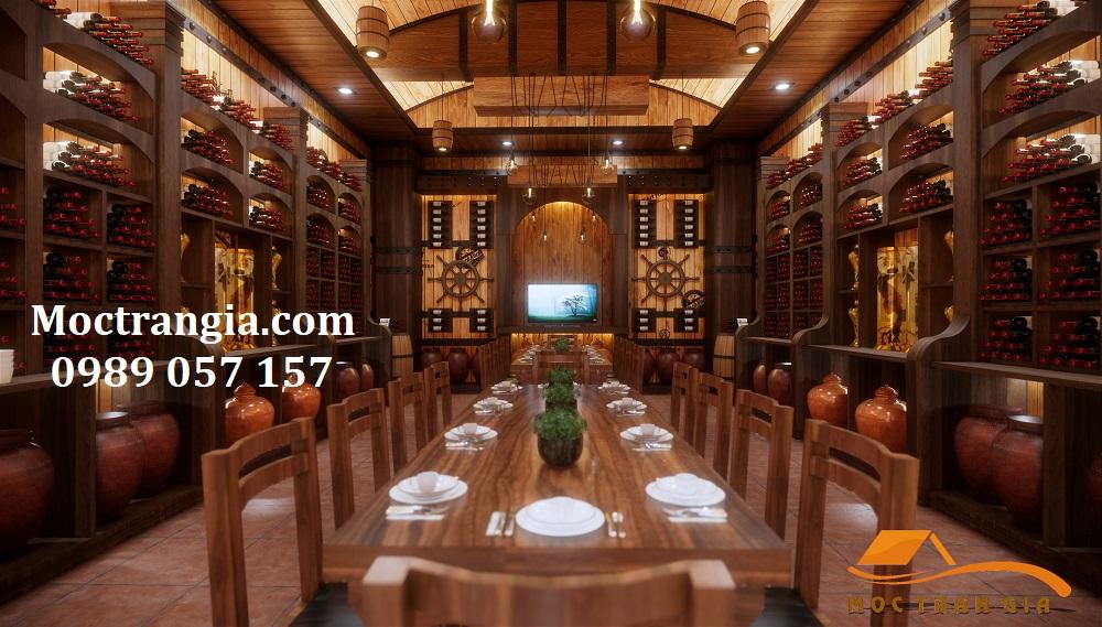Tư Vấn Thiết Kế Hầm Rượu Đẹp 054GT