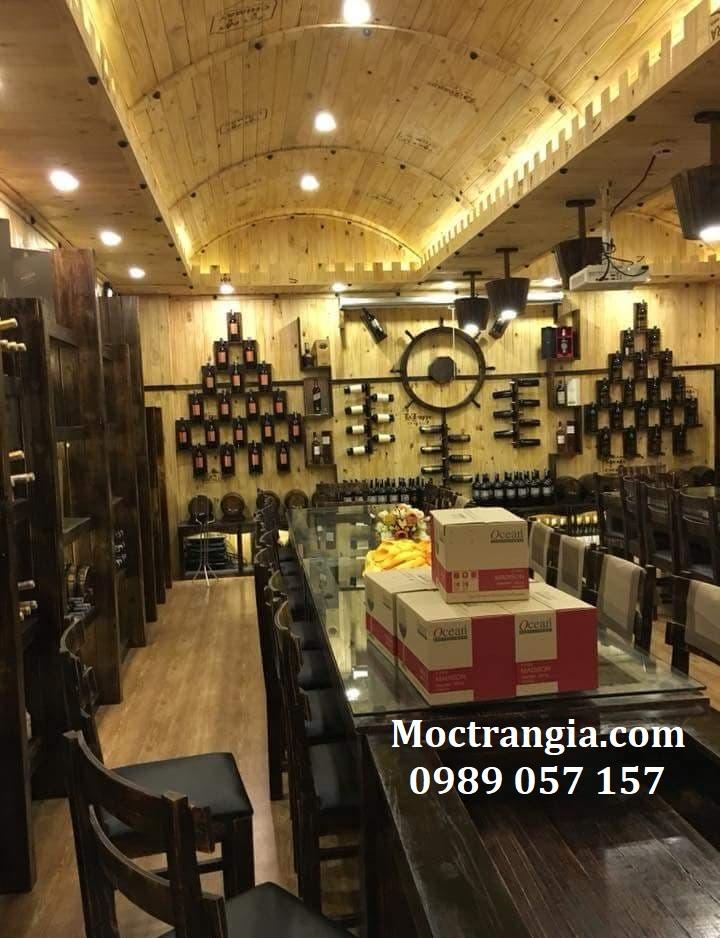 Thi Công Hầm Rượu Đẹp 140GT