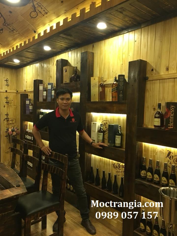 Thi Công Hầm Rượu Đẹp 141GT