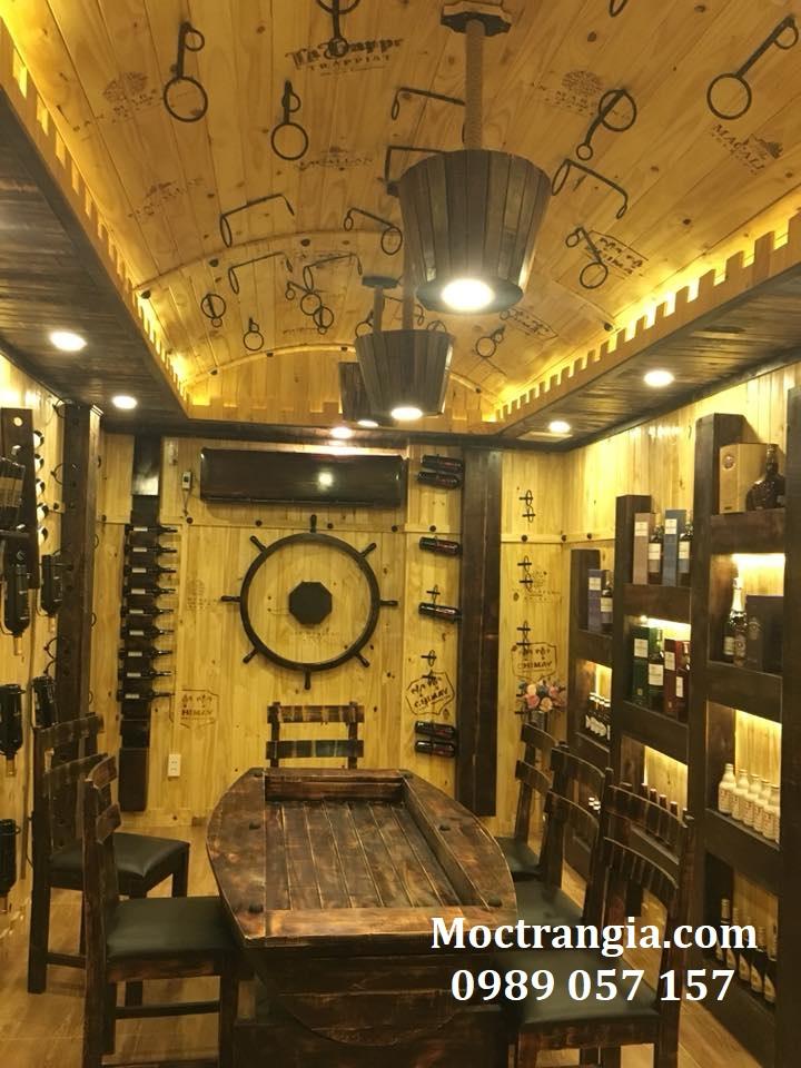 Thi Công Hầm Rượu Đẹp 143GT
