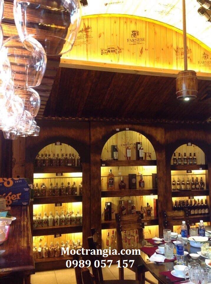 Thi Công Hầm Rượu Đẹp 160GT