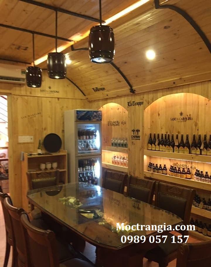 Thi Công Hầm Rượu Đẹp 161GT