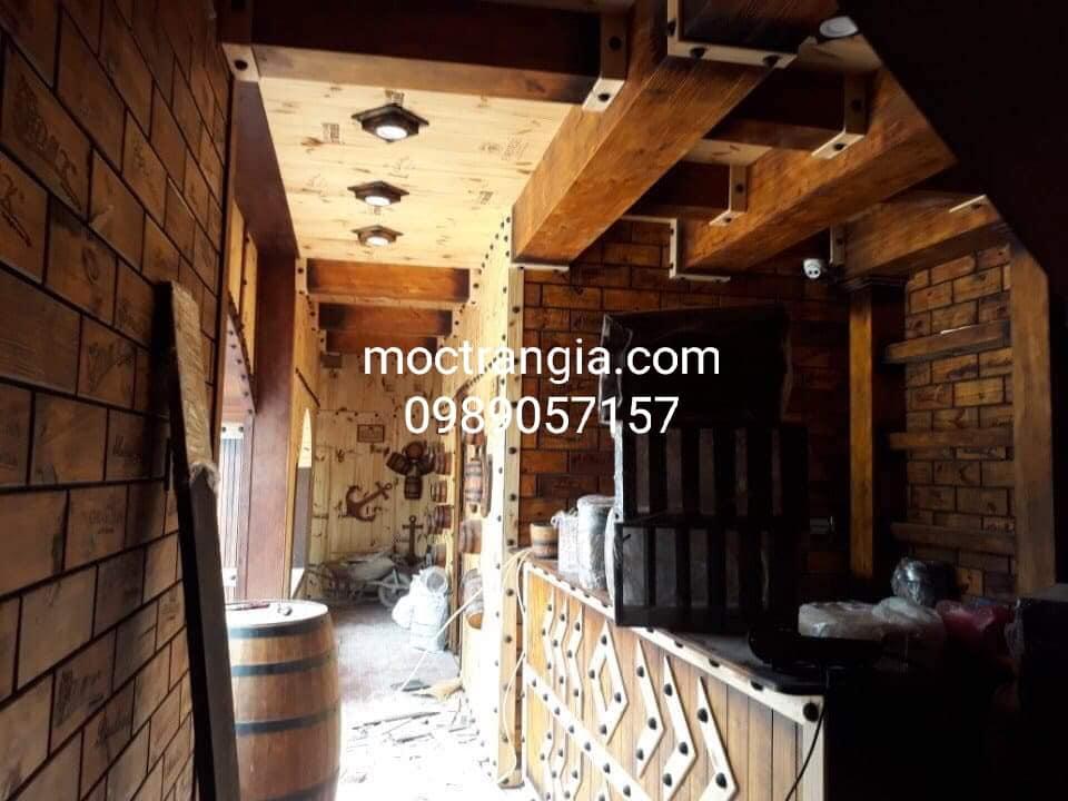 Thi Công Hầm Rượu Đẹp 162GT