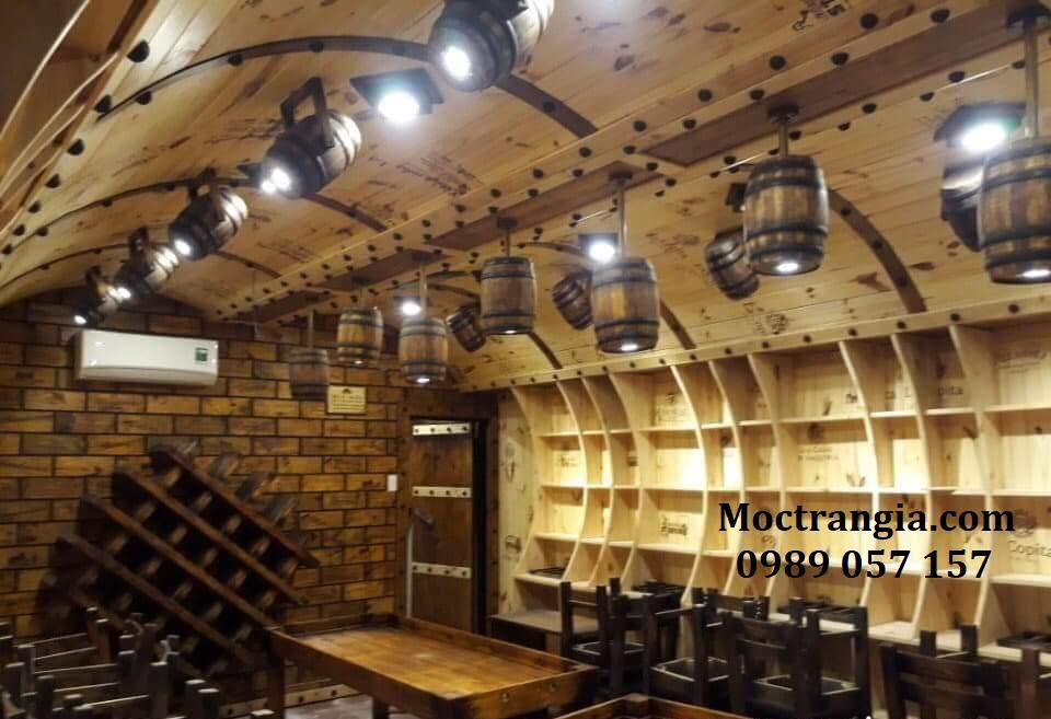 Thi Công Hầm Rượu Đẹp 163GT