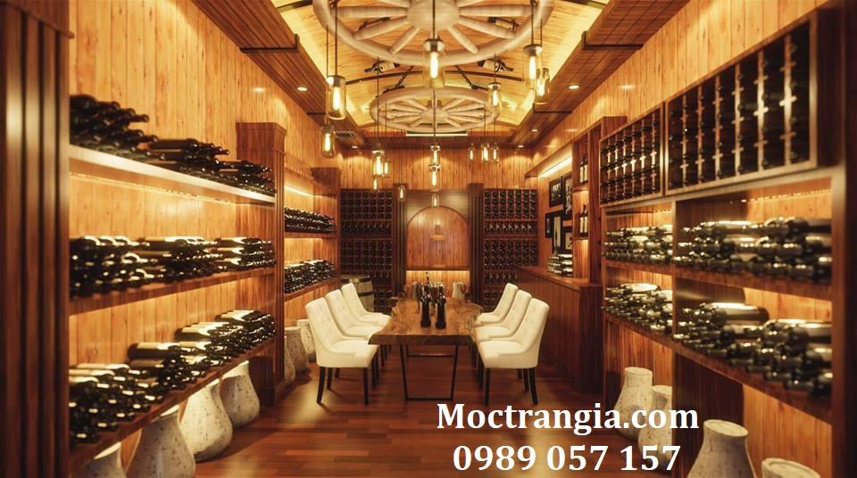 Thi Công Hầm Rượu Đẹp 180GT