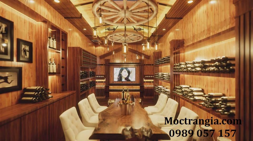 Hầm Rượu Gia Đình_Moctrangia