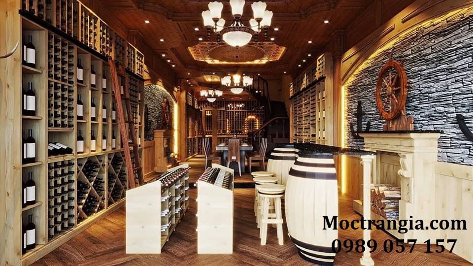 Thi Công Hầm Rượu Đẹp 182GT