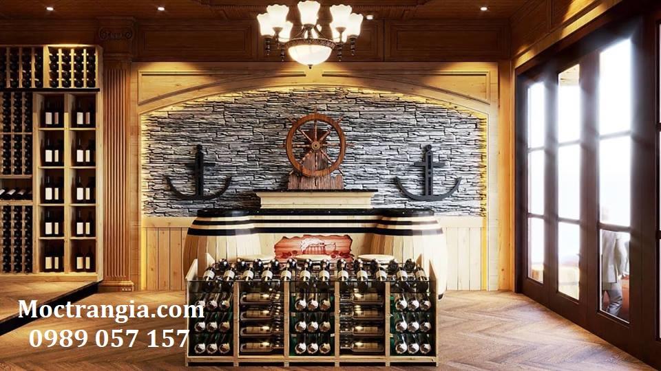 Thi Công Hầm Rượu Đẹp 184GT