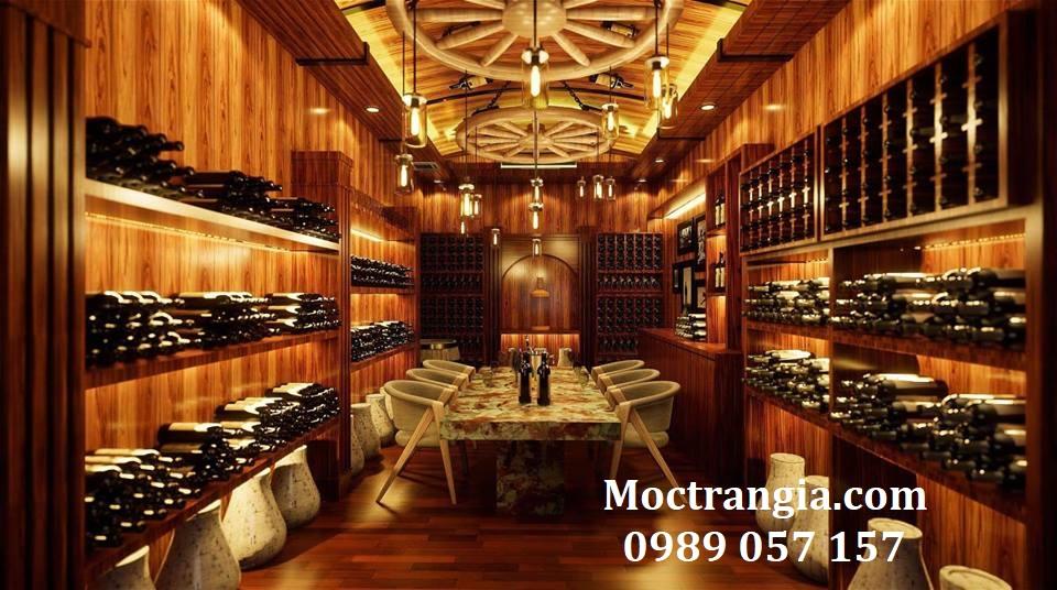 Thi Công Hầm Rượu Đẹp 185GT