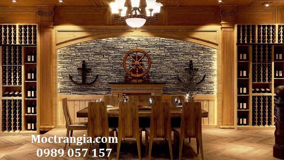 Thi Công Hầm Rượu Đẹp 186GT
