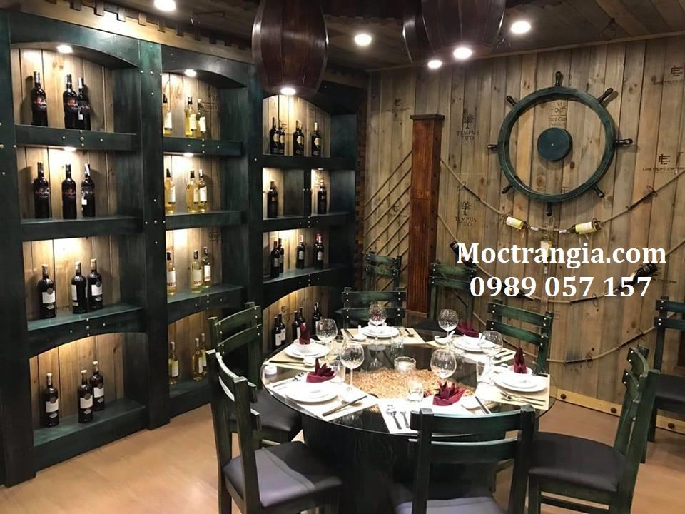 Thiết kế thi công nhà hàng hầm rượu trọn gói 6_Moctrangia.com