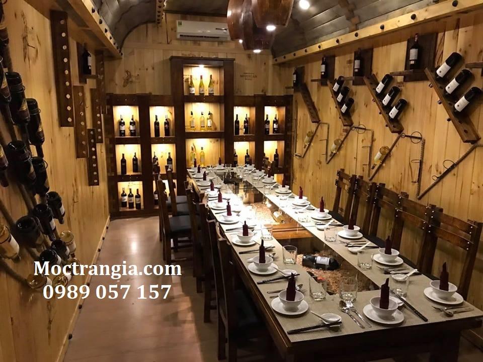 Thiết kế thi công nhà hàng hầm rượu trọn gói 3_Moctrangia.com