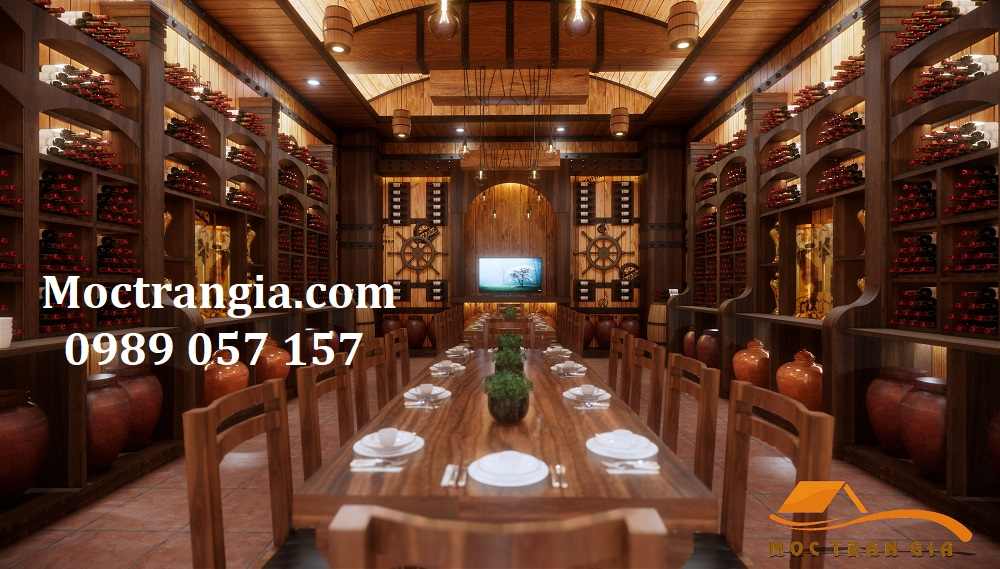 Thi Công Hầm Rượu Đẹp 211GT