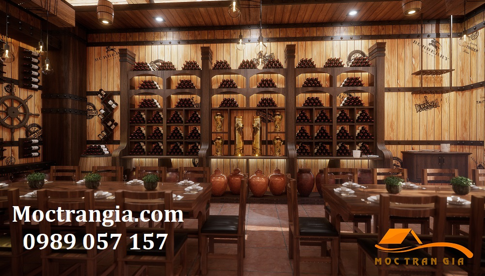 Thi Công Hầm Rượu Đẹp 216GT