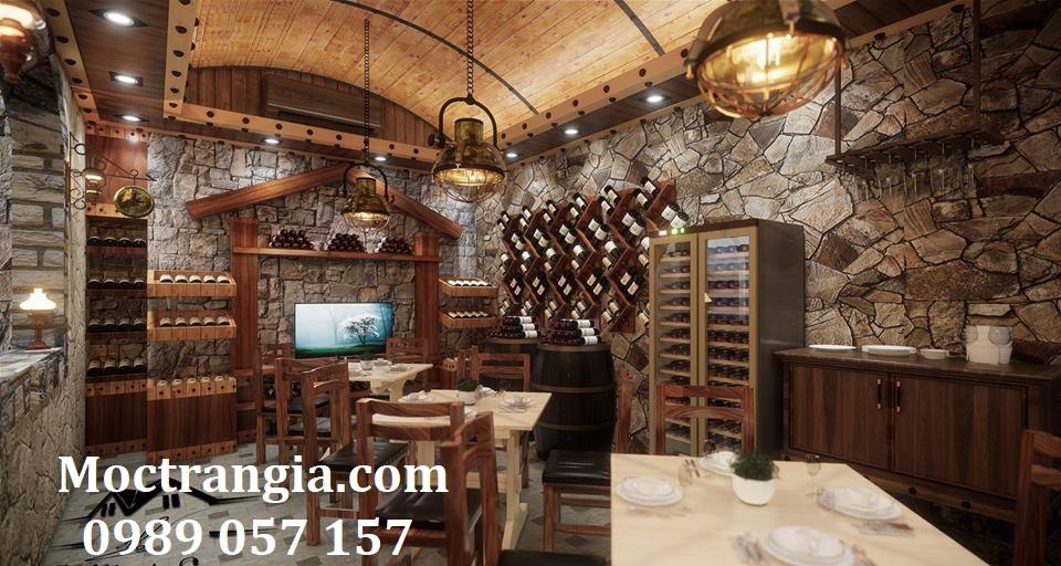 Thi Công Hầm Rượu Đẹp 218GT