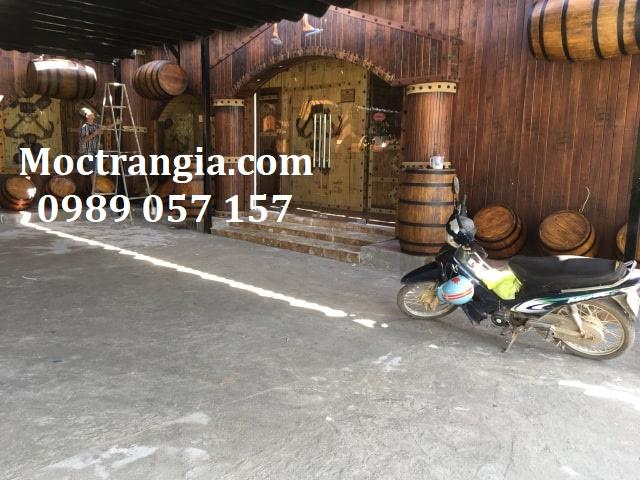 Thi Công Hầm Rượu Đẹp 229GT