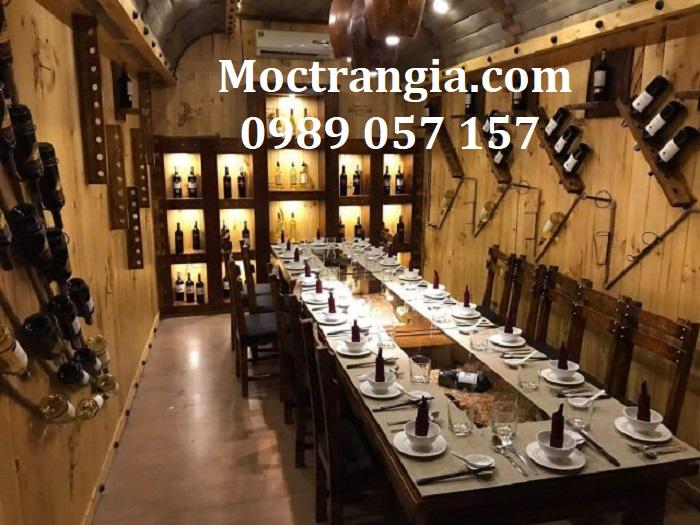 Thiết kế thi công nhà hàng hầm rượu trọn gói 4_Moctrangia.com