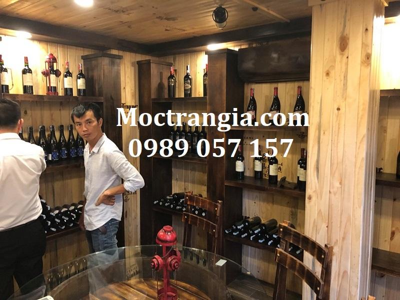 Thi Công Hầm Rượu Đẹp 254GT