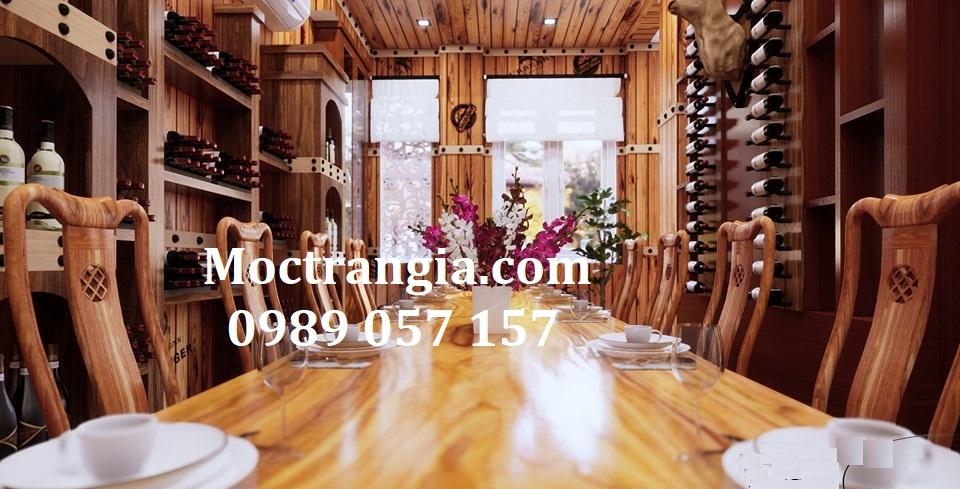 Thi Công Hầm Rượu Đẹp 266GT
