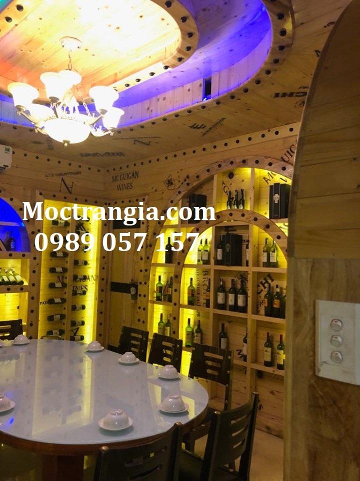 Thi Công Hầm Rượu Đẹp 274GT