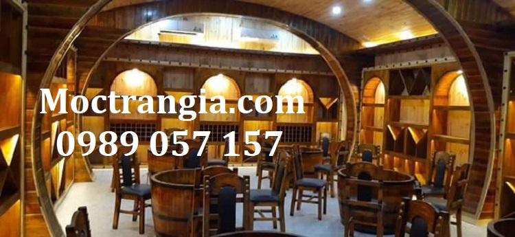 Thi Công Hầm Rượu Đẹp 405GT