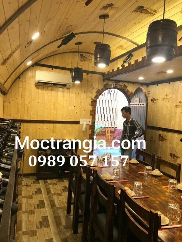 Thi Công Hầm Rượu Đẹp 436GT