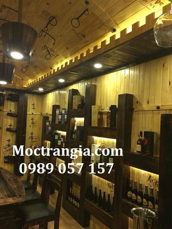 Thi Công Hầm Rượu Đẹp 448GT
