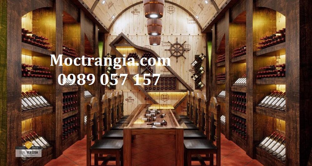 Thi Công Hầm Rượu Đẹp 529GT