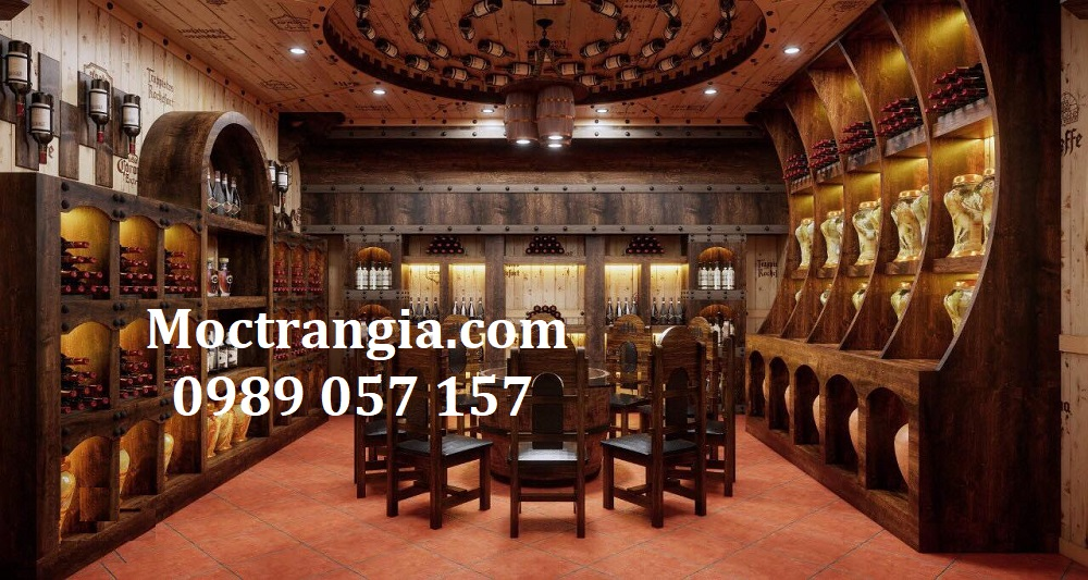 Thi Công Hầm Rượu Đẹp 531GT
