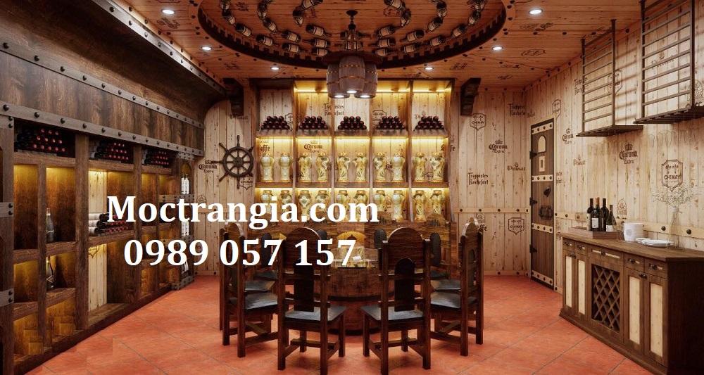 Thi Công Hầm Rượu Đẹp 532GT