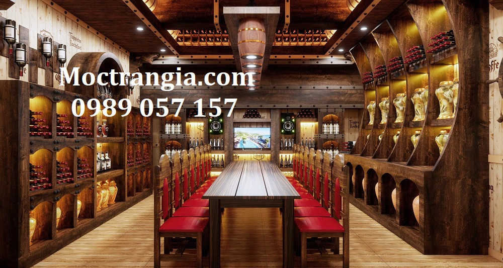 Thi Công Hầm Rượu Đẹp 535GT