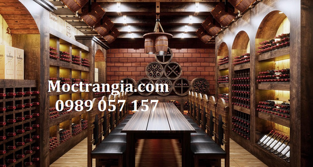 Thi Công Hầm Rượu Đẹp 539GT