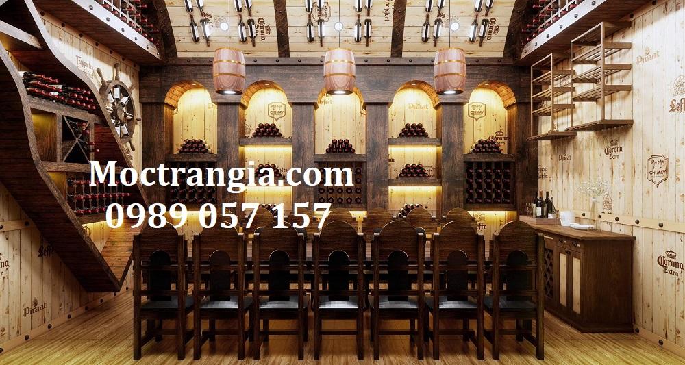Thi Công Hầm Rượu Đẹp 540GT