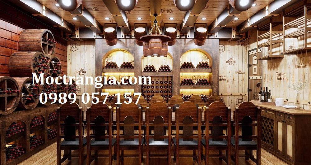 Thi Công Hầm Rượu Đẹp 542GT