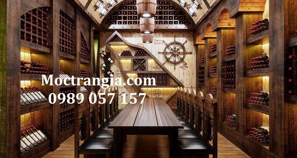 Thi Công Hầm Rượu Đẹp 543GT