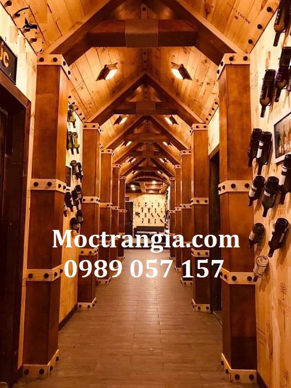 Thi Công Hầm Rượu Đẹp 551GT
