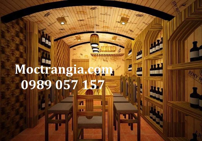 Thi Công Hầm Rượu Đẹp 552GT