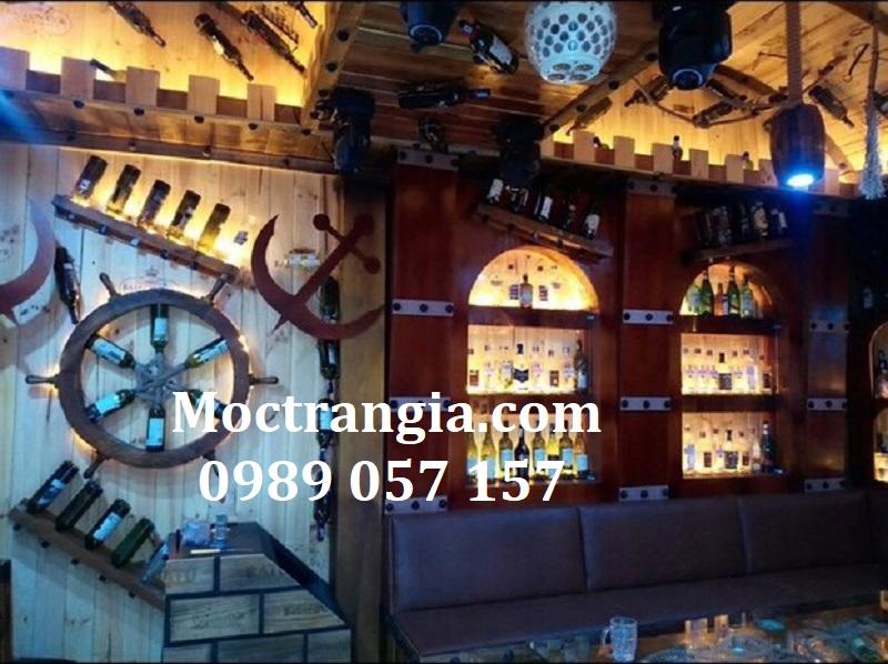 Thi Công Hầm Rượu Đẹp 557GT