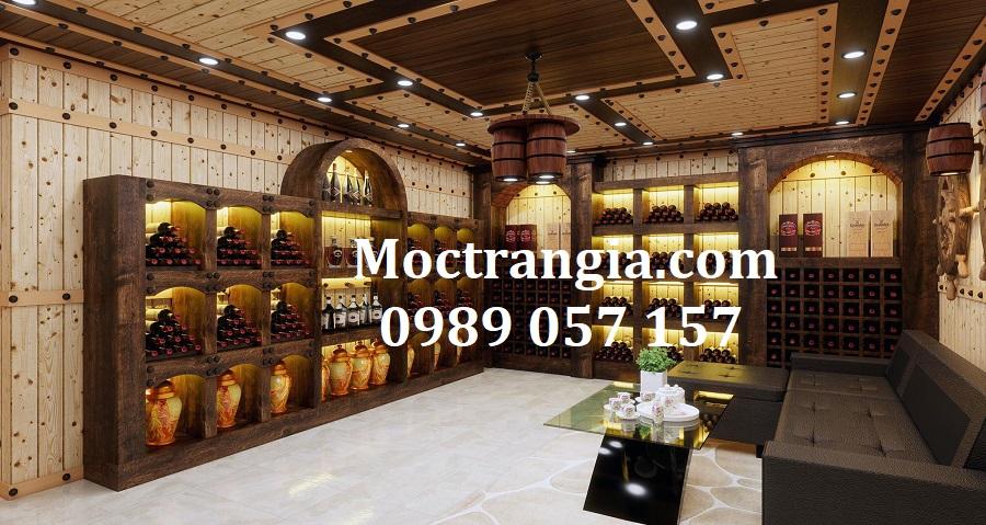 Thi Công Hầm Rượu Đẹp 576GT