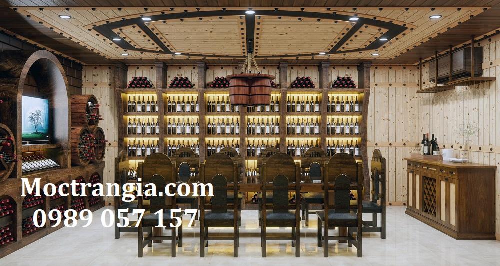 Thi Công Hầm Rượu Đẹp 581GT