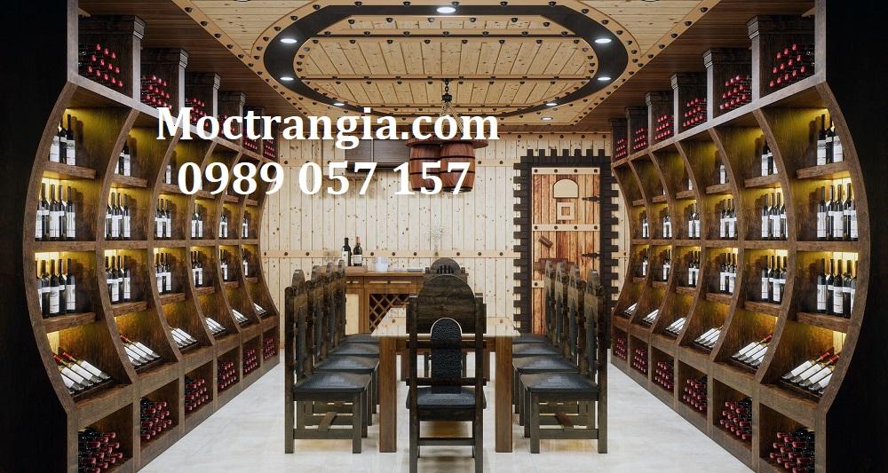 Thi Công Hầm Rượu Đẹp 584GT