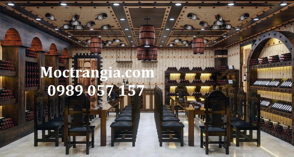 Thi Công Hầm Rượu Đẹp 589GT