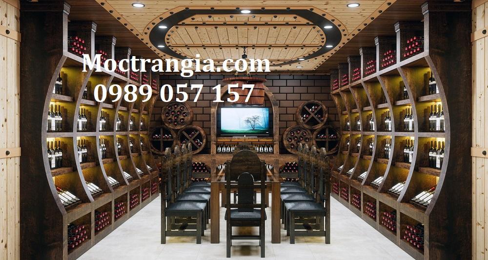Thi Công Hầm Rượu Đẹp 590GT