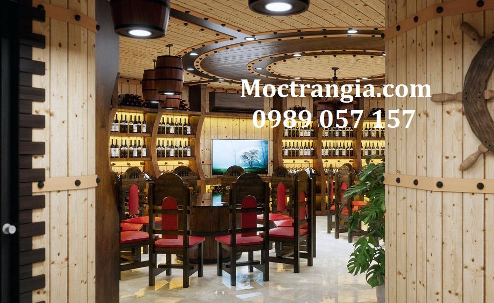 Thi Công Hầm Rượu Đẹp 593GT