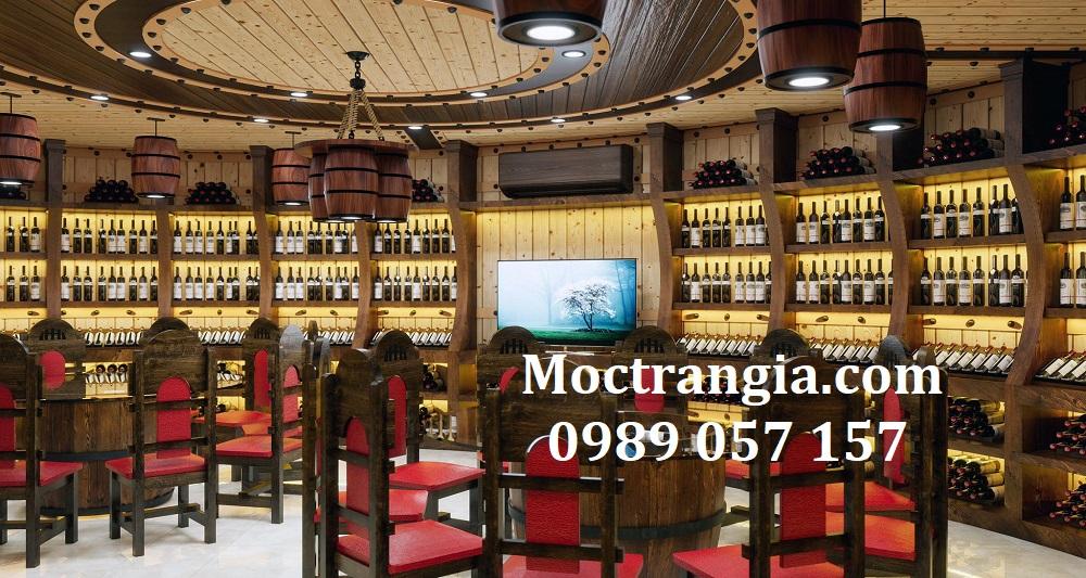 Thi Công Hầm Rượu Đẹp 594GT