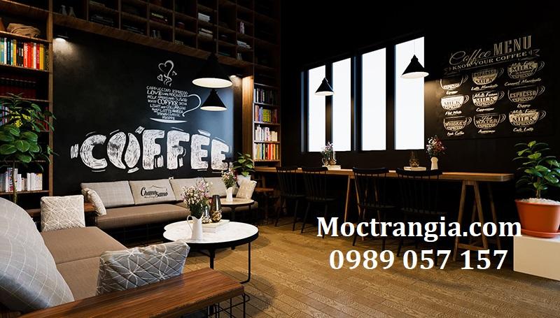 Thiết Kế Thi Công Quán Cafe Đẹp, Giá Rẻ_Moctrangia