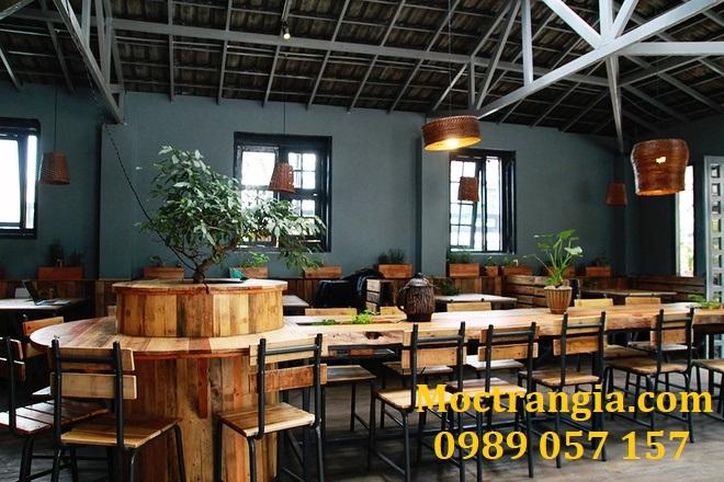 Thiết Kế Thi Công Quán Cafe Giá Rẻ 002GT